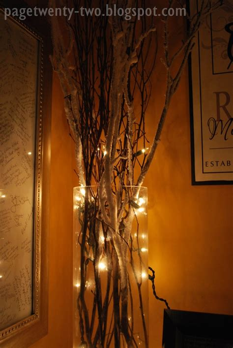 Lit Twigs In Vase by Lighted Vase With Snowy Branches Big In The Suit