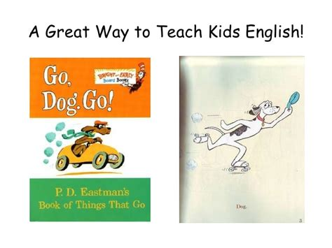 what goes with dogs teach with go dogs go