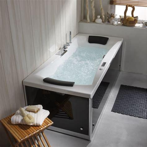 Pose d'une baignoire balnéo   Leroy Merlin