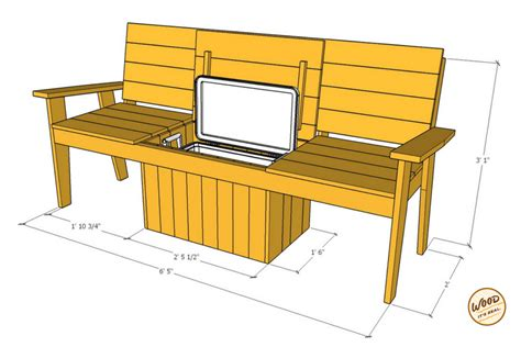 bench cooler build it the most amazing cooler bench ever wood it s