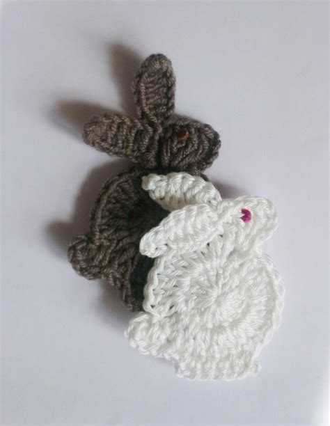 the easter bunny crochet pattern by kiprepahkla craftsy easter bunny applique pattern free crochet patterns