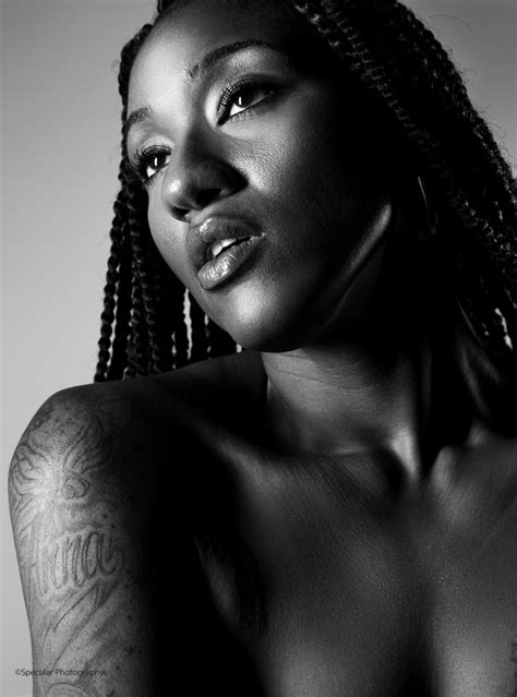 black female model mayhem glamazon anna model los angeles california us