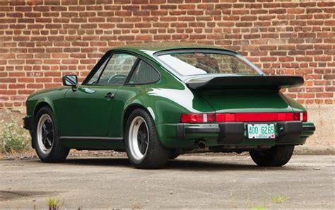 porsche 911 irish green irish green 1989 porsche 911 club sport german cars for