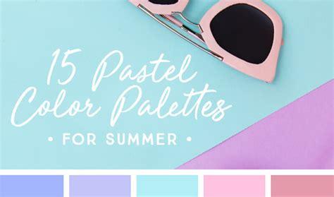 happy colors soraya s blog 夏デザイン配色の参考に すぐに使えるパステル系カラーパレット15選まとめ photoshopvip