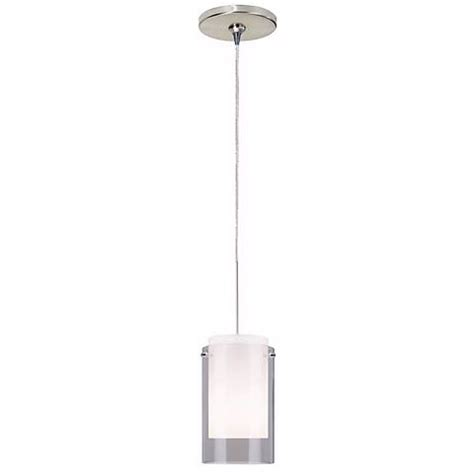 Tech Lighting Echo Pendant Smoke Echo Satin Nickel Tech Lighting Mini Pendant 19424 84367 Ls Plus