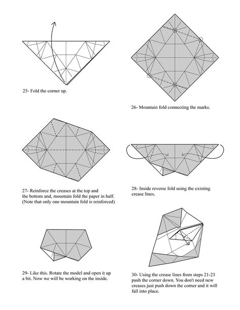 Origami Puzzle - origami burr puzzle page 5 para yadira well here it is