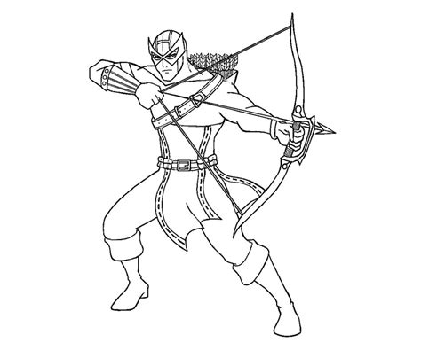 avengers coloring pages hawkeye hawkeye avenjers free coloring pages