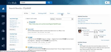 search designs screenshots amp s clean social innovative intranet