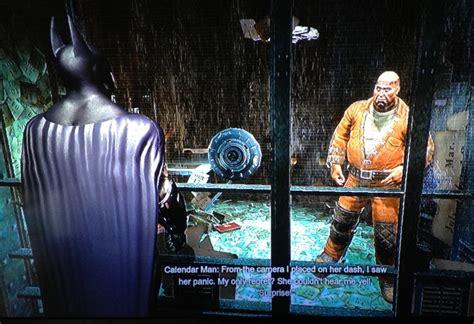 Where S Calendar Arkham City A Sick April Fools Message From Batman Arkham City S
