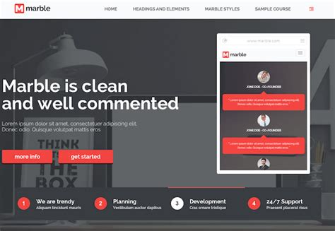 Moodle Theme Marble | what is moodle