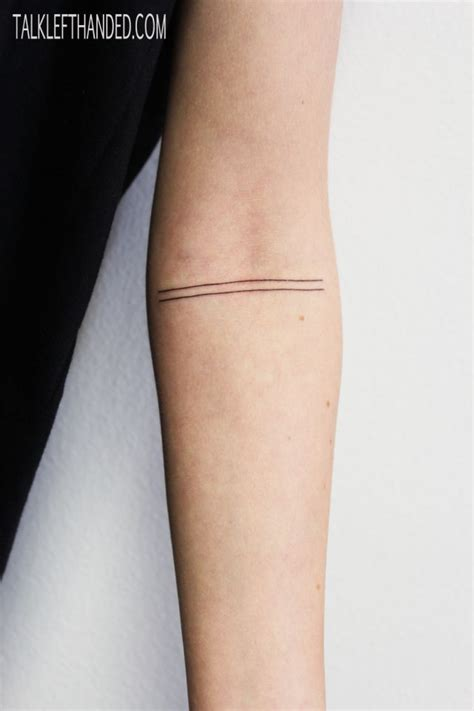 three lines tattoo meaning minimal tattoos ink black tattoos