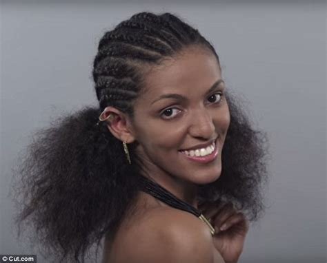 how beauty trends in ethiopia have changed over the last 100 years in video daily mail