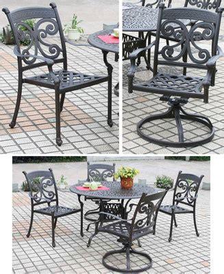 dwl monarch cast aluminum outdoor patio furniture