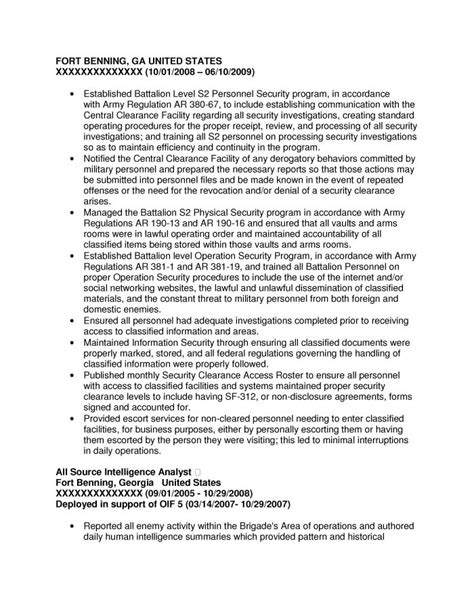 Navy Intelligence Specialist Cover Letter by Navy Intelligence Specialist Resume