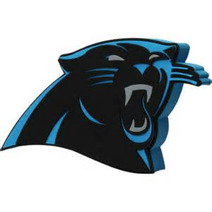 panthers football colors carolina panthers 3d foam logo sign nflshop