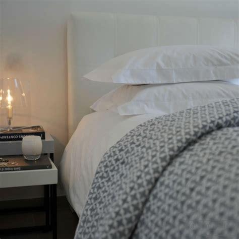 Sommier Lit 2115 by Housse De Couette En Percale De Coton Supima Blanc 200