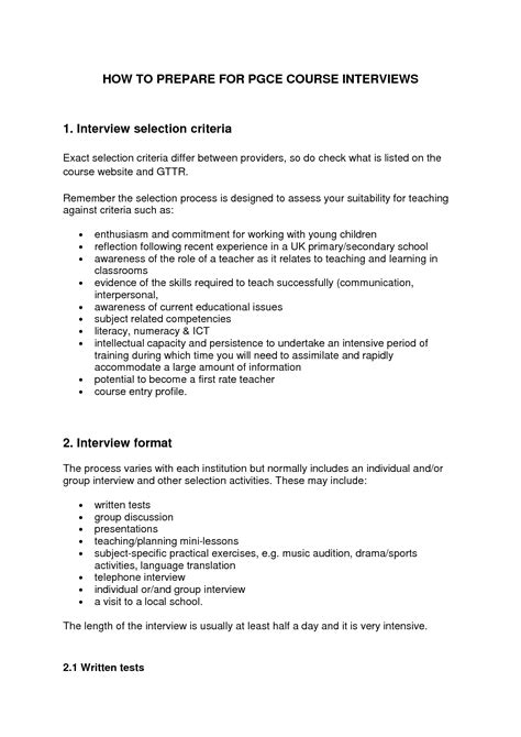 personal statement template for teaching personal statement for application