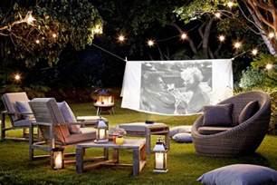 take movie night outdoors garden design ideas garden ideas houseandgarden co uk