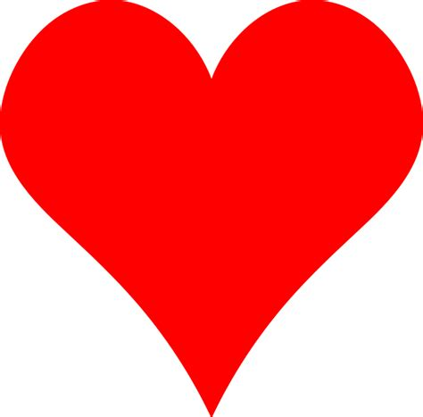 imagenes en blanco y rojo de amor free vector graphic heart red simple symbol free