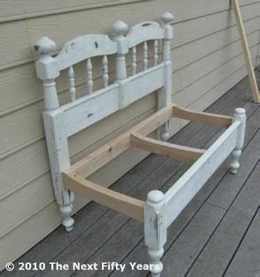 make a bench out of a headboard and footboard 25 best ideas about twin headboard on pinterest industrial beds and headboards diy