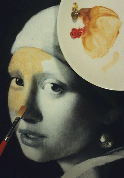 acrylic painting using glaze vermeer s artistic technique painting an copy of