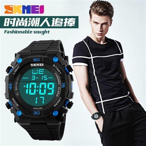 Skmei Jam Tangan Sport Digital Dg1027 Black T3010 2 skmei jam tangan digital pria dg1130 black white jakartanotebook