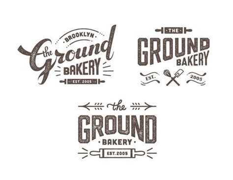 design logo bakery the ground bakery logo design by nana nozaki via