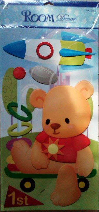 Gamis Teddy Anak Uk3 11 jual big teddy sticker 3 dimensi qiew shop wall