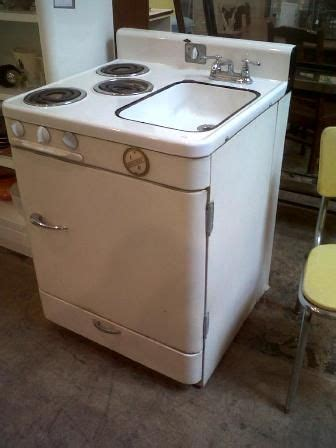 all in one kitchen appliance how sweet stove sink fridge combo antique appliances