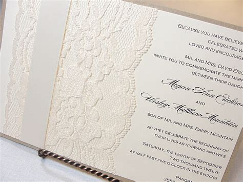 free printable wedding invitations lace lace border wedding invitation free template