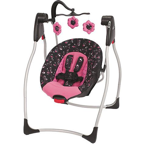 pink baby swings graco comfy cove swing priscilla walmart com