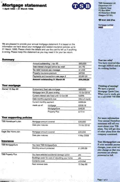 mortgage payoff statement template best template collection