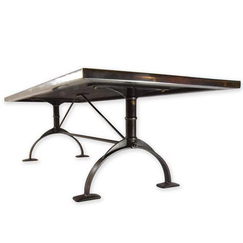 Zinc Top Bar Table Zinc Top Table Zinc Table Andrew Nebbett Designs