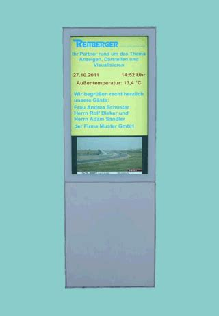 Led Stehle by Reitberger Numerical Lcd Displays Exle 1