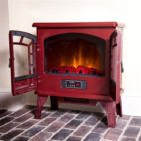 duraflame fireplace heater duraflame 750 electric fireplace stove in cranberry dfs
