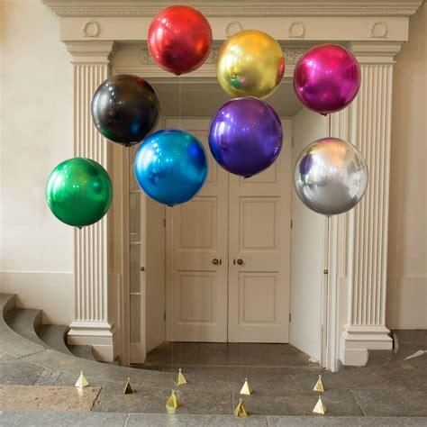 Balon Foil Metallic large foil balloons by bubblegum balloons