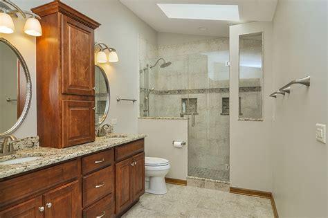 bathroom remodeling services rick marlene s master bathroom remodel pictures home
