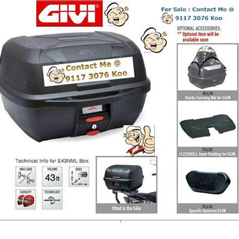 Terbatas Box Givi E43ntl Mulebox box givi e43 ntl daftar harga terlengkap indonesia
