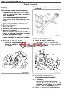 Isuzu Repair Manual Isuzu 2008my N Series Engine 4jj1 Model Workshop Manual
