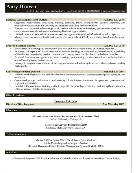 Media Planning Manager Resume by 44 Best Resume Sles Images On Resume