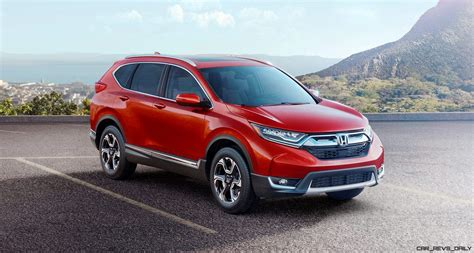 honda cr 2017 honda cr v turbo powered redesign continues march