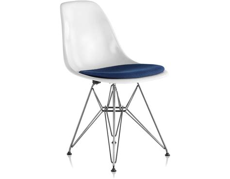 eames wire eames 174 wire base with seat pad hivemodern com