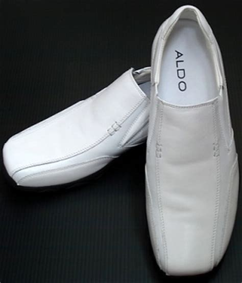 Sho Wardah fashion leather loafers shoes white daftar update