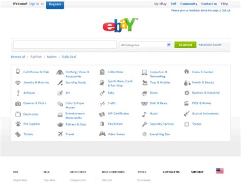 homepage design concepts ebay new home page concepts tamebay