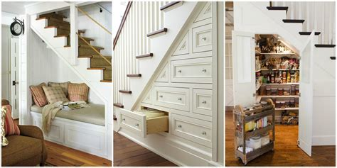 stairs storage 15 genius stairs storage ideas what to do with