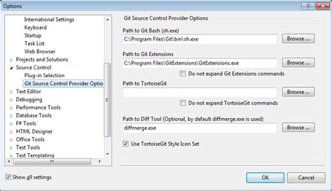 git extensions tutorial visual studio 2010 using git with visual studio 2010 an introduction