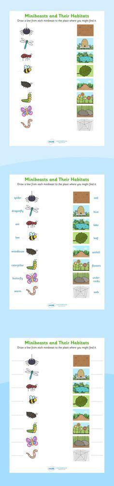 printable animal habitat matching game free worksheets matching what goes together has 11