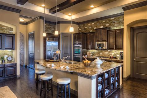 House Kitchen Ashton Woods Model Home Sweetwater