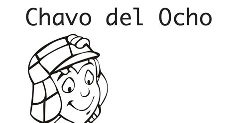 Chavo Ocho Coloring Pages