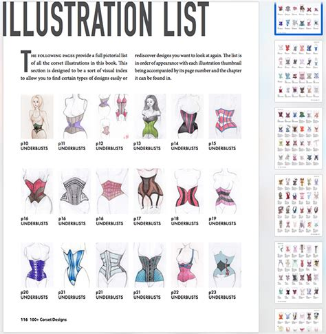 Drawing 8 Hours A Day by 100 Corset Designs Book 27 Corset